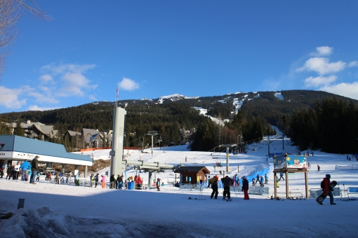 Base of Blackcomb Mountain, Whistler Canada